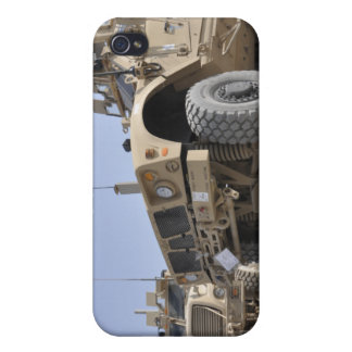 An M-ATV Mine Resistant Ambush Protected vehicl Cover For iPhone 4