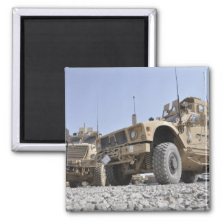 An M-ATV Mine Resistant Ambush Protected vehicl Refrigerator Magnets