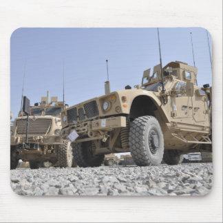 An M-ATV Mine Resistant Ambush Protected vehicl Mouse Pad