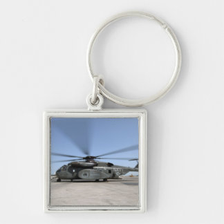An MH-53E Sea Dragon helicopter Keychain