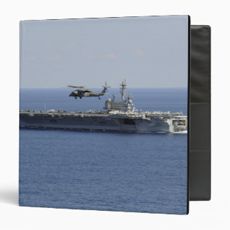 An MH-60S Seahawk helicopter Binder