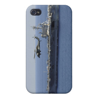 An MH-60S Seahawk helicopter iPhone 4 Case
