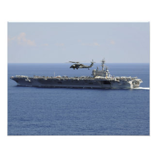 An MH-60S Seahawk helicopter Photo Print