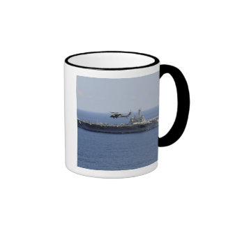 An MH-60S Seahawk helicopter Ringer Mug