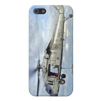 An MH-60S Seahawk prepares to deliver ammunitio iPhone SE/5/5s Case