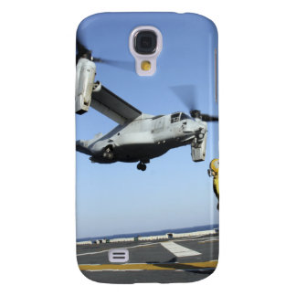 An MV-22 Osprey launches from the USS Nassau Galaxy S4 Case