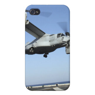 An MV-22 Osprey launches from the USS Nassau iPhone 4/4S Case