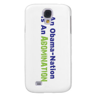 An Obama-Nation is an Abomination Samsung Galaxy S4 Cover