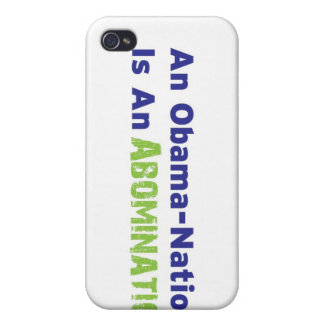 An Obama-Nation is an Abomination iPhone 4/4S Cover