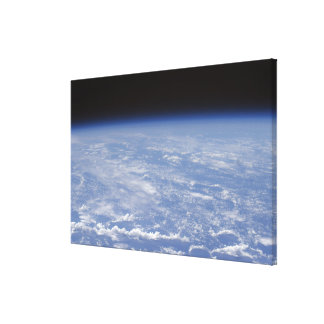 An oblique horizon view of the Earth's atmosphe Gallery Wrap Canvas