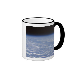 An oblique horizon view of the Earth's atmosphe Mugs