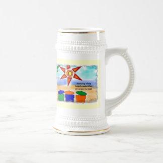 An Ocean Breeze Collectible Haiku Art Stein Coffee Mugs
