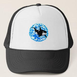 AN OCEAN TRAVELER TRUCKER HAT