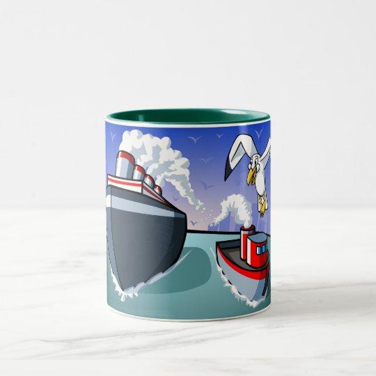 An Oceanic Adventure Two-Tone Coffee Mug