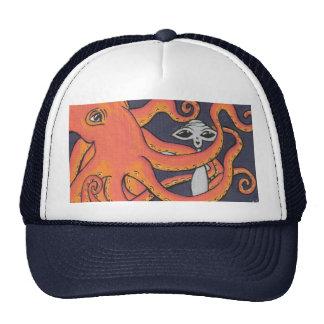An Octopus Friend hat