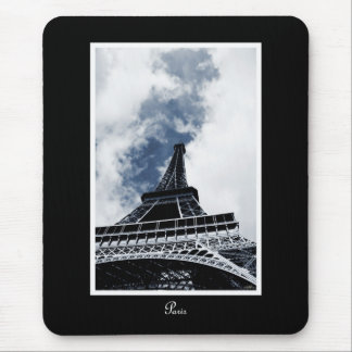 An Ode to the Eiffel Tower Mouse Pad