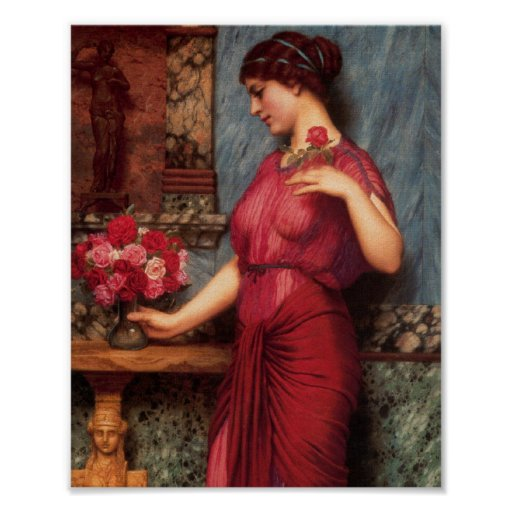 An Offering to Venus Oil Painting Poster