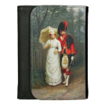 An Officer And His Lady Leather Wallet