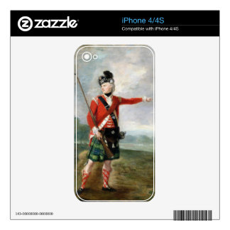 An Officer of the Light Company of the 73rd Highla Decal For The iPhone 4