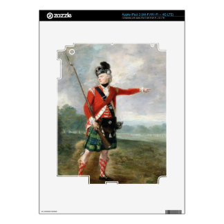 An Officer of the Light Company of the 73rd Highla iPad 3 Skins