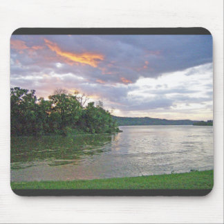 An Ohio River Valley Sunrise Mouse Pad