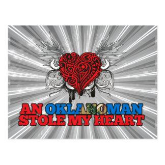 An Oklahoman Stole my Heart Postcard