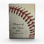 "An Old Baseball Award<br><div class=""desc"">A photograph of a used baseball.</div>"