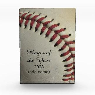An Old Baseball Award
