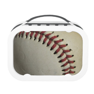 An Old Baseball Lunch Box