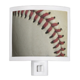 An Old Baseball Night Light