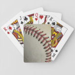 "An Old Baseball Playing Cards<br><div class=""desc"">A photograph of a used baseball.</div>"