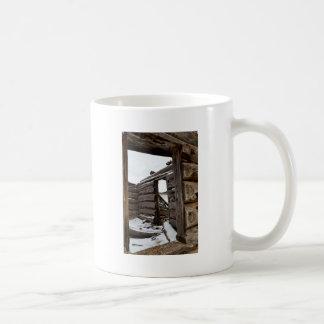 An Old Cabin Coffee Mug