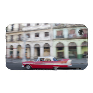 An old car cruising the streets of Havana Cuba iPhone 3 Case-Mate Case
