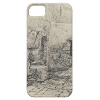 An Old Cistern by James Tissot iPhone SE/5/5s Case