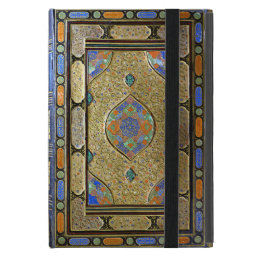 An Old Colourful Decorative Book Cover
