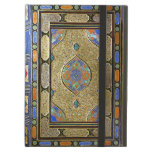 An Old Colourful Decorative Book Cover Cover For iPad Air