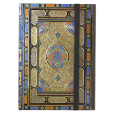 An Old Colourful Decorative Book Cover Cover For Ipad Air at Zazzle