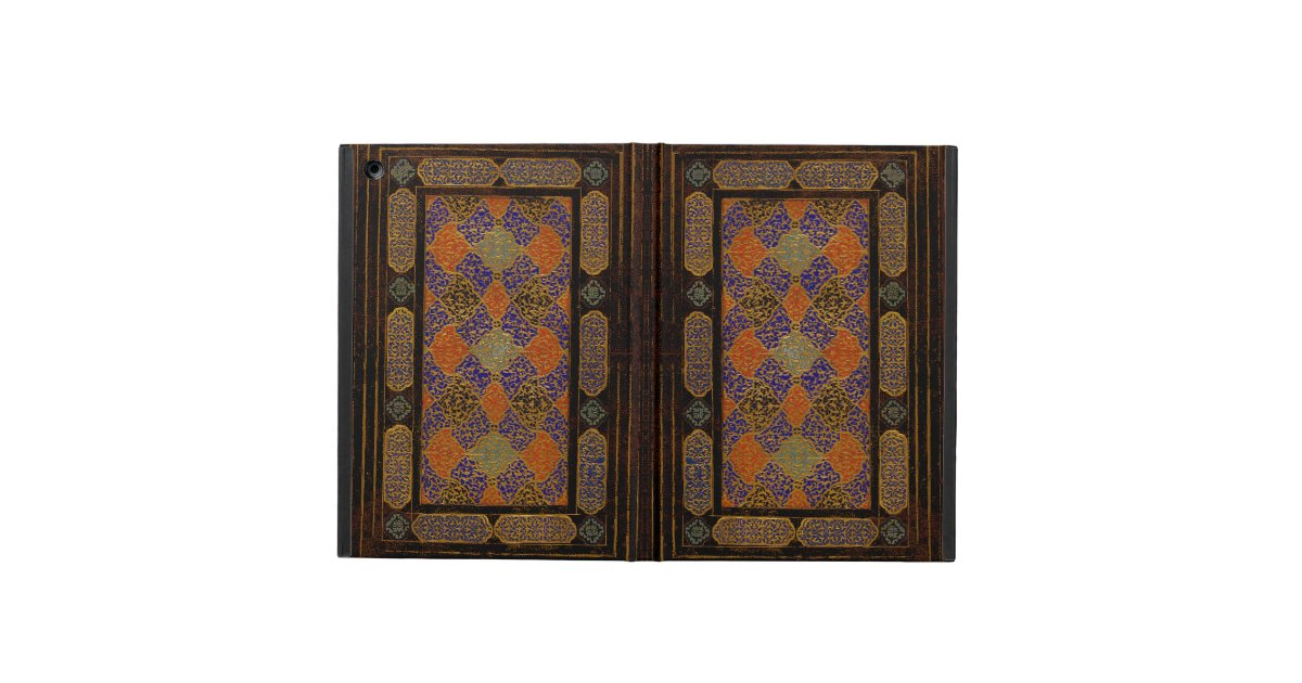 Decorative Book Cover Paper ~ An old decorative book cover ipad air zazzle