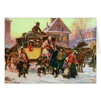 An Old Fashioned Christmas Card