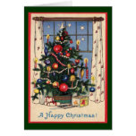 An Old-Fashioned Christmas-Tree/Vintage Cards