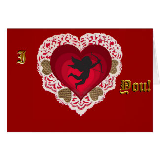 An Old Fashioned Valentine Greeting Card