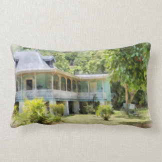 An old heritage style building pillow