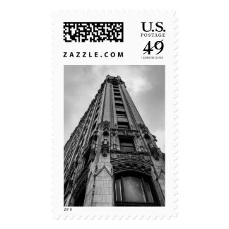 An old hotel in San Antonio Postage