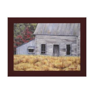AN OLD HOUSE by CR SINCLAIR Canvas Print