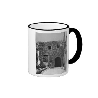 An old house in Lindos, Rhodes Ringer Coffee Mug