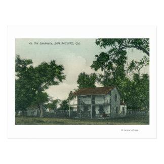 An Old Landmark Scene Postcard