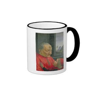 An Old Man and a Boy, 1480s Coffee Mug