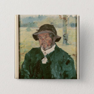An Old Man, Celeyran, 1882 Button
