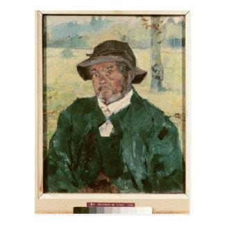 An Old Man, Celeyran, 1882 Postcard