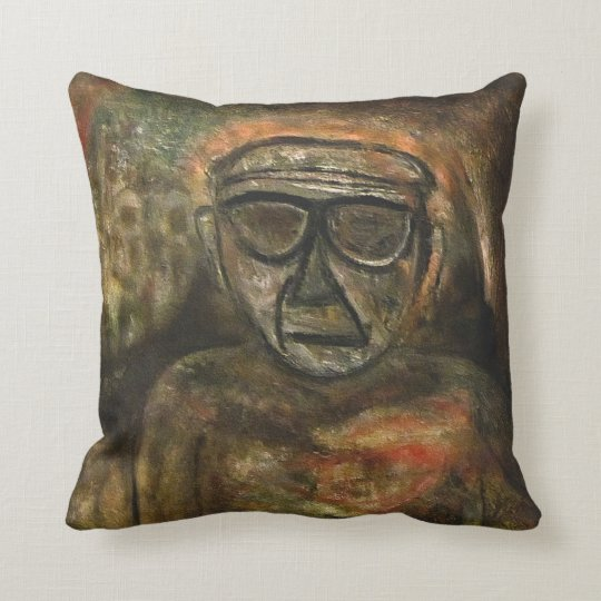 An old man during WW2 by rafi talby Throw Pillow